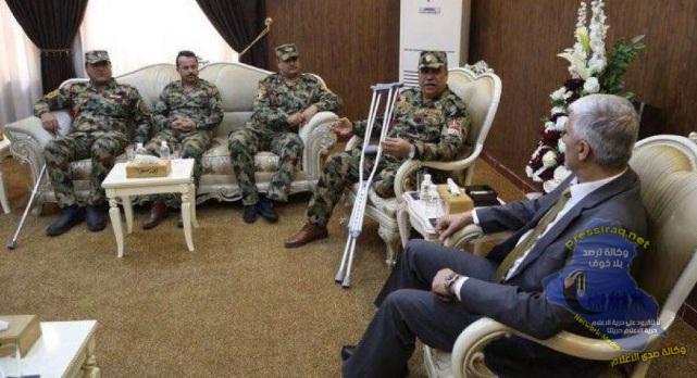 وزير الشباب يوعز باصدار باجات لجرحى الجيش لدخول ملاعب الوزارة مجانا