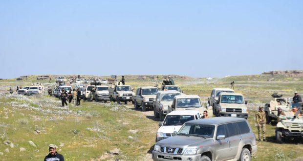 الحشد الشعبي والقوات الامنية يضبطان 11 مضافة لداعش في محافظة ديالى