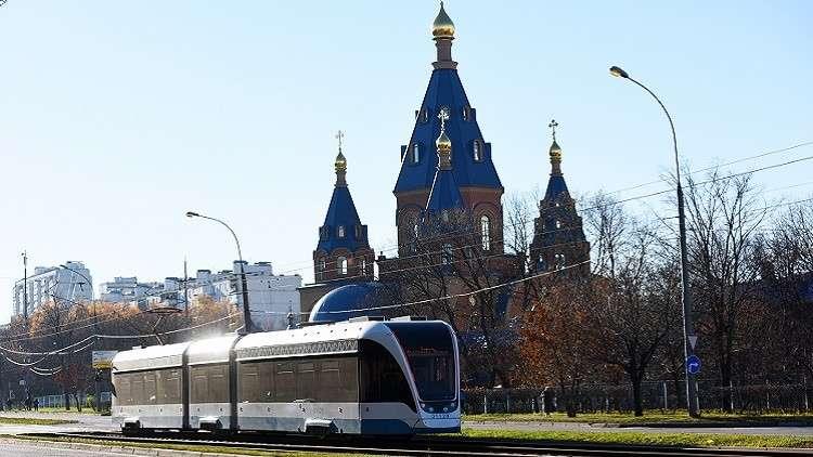 موسكو تطلق أول ترام ذاتي القيادة!