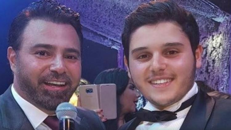 """عاصي الحلاني يحتفل على طريقته الخاصة بفوز ابنه بـ """"ديو المشاهير"""""""