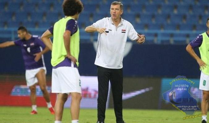 عقد اجتماع مع مدرب المنتخب الوطني السلوفيني كاتنيتش بعد انتهاء اجازته