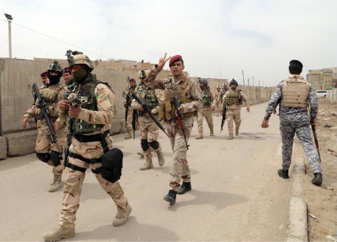 قتل أربعة ارهابيين وتدمير مجموعة من الانفاق في نينوى