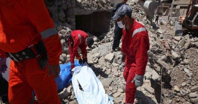 انتشال جثث جديدة من تحت الركام في الموصل