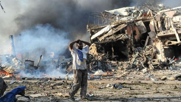 رويترز: دوي انفجار هائل وسط العاصمة الصومالية مقديشو