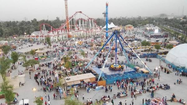 إفتتاح لعبة ترفيهية هي الأولى من نوعها في العراق