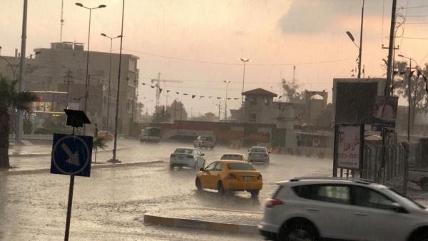 بدء الحالة الممطرة في العراق وتحذير جديد
