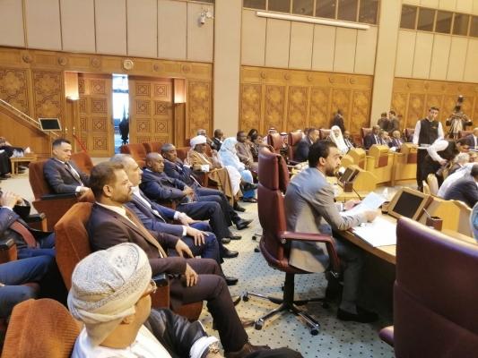 الحلبوسي في كلمته بالبرلمان العربي: العراق دفع ثمناً غالياً للنصر على داعش وإستقرار المنطقة