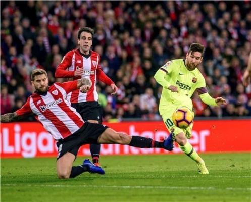 برشلونة يتعثر أمام بيلباو والفارق يتقلص مع ريال مدريد