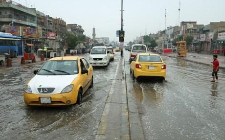 أمطار شديدة قادمة للعراق