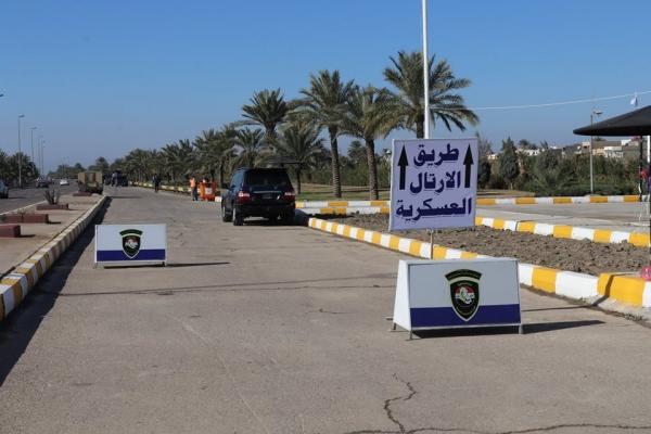 إفتتاح طرق مغلقة في العامرية بإتجاه مطار بغداد