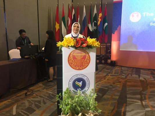 جمعية البرلمانات الآسيوية توافق على مقترح العراق بخصوص النساء