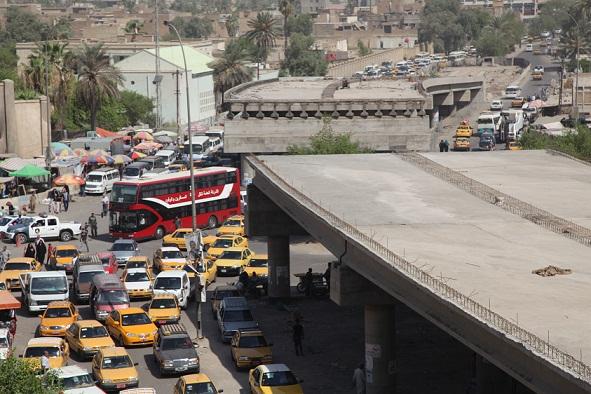 النزاهة تكشف نتائج تقصيها معلومات عن محرمات {مجسر المشن} في بغداد