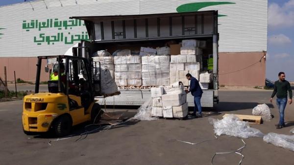 إتلاف كميات كبيرة من الأدوية في مطار بغداد