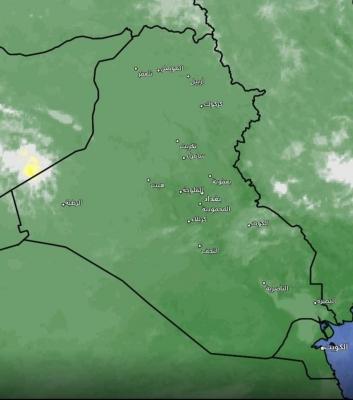 تحديث جديد للحالة الممطرة في العراق اليوم