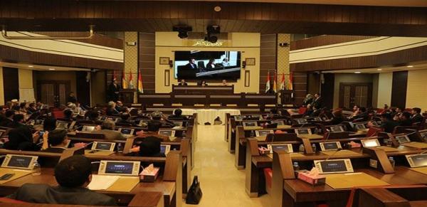 برلمان الإقليم يعقد جلسته بمقاطعة الاتحاد الوطني
