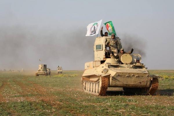فرقة العباس القتالية تطهر وادي الغدف في الصحراء الغربية