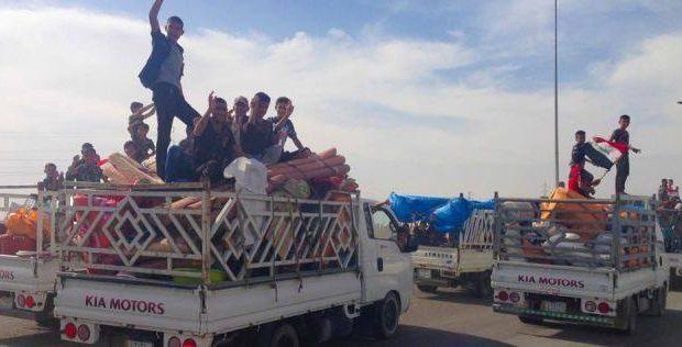 وزارة الهجرة تعلن عودة (102) نازح لمناطق سكناهم في الصقلاوية