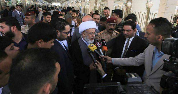 خلال الملتقى الاول للإعلاميين الحربيين ممثل المرجعية الدينية يدعو الى توثيق دولي لجرائم داعش