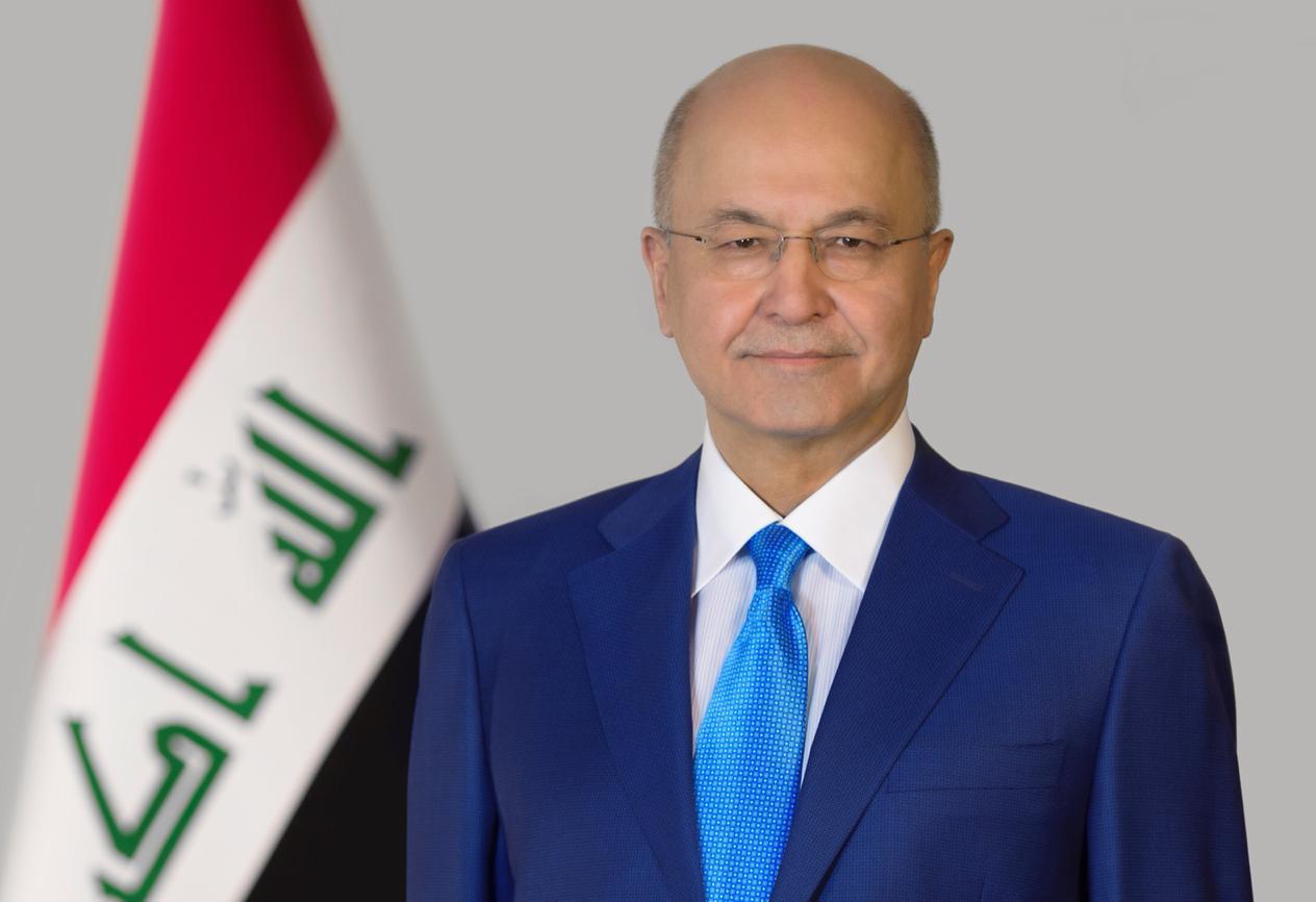 برهم صالح يبحث مع وزير التجارة السعودية سعي العراق لتقريب وجهات النظر بين دول المنطقة