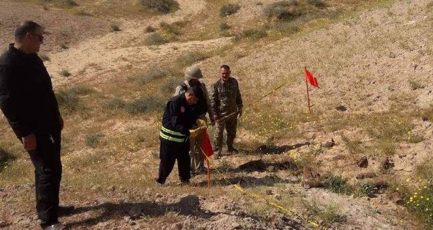 الحشد والقوات الأمنية ينفذان عملية تمشيط في بادية النجف ويعثران على كدس يحوي صواريخ وقذائف الهاون