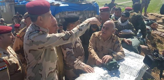 رئيس اركان الجيش يوجه بوحدة القيادة والتعاون بين القوات الأمنية والحشد الشعبي في الطوز
