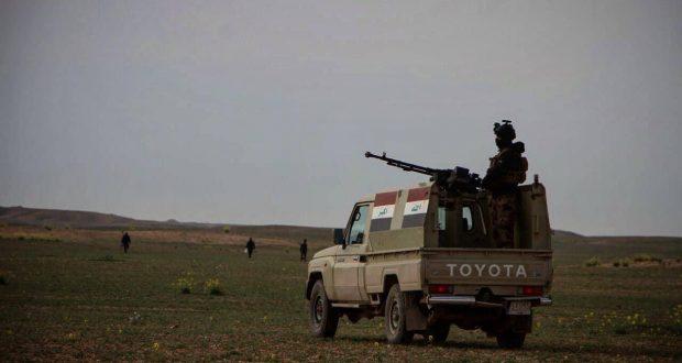 الجيش والحشد ينفذان عملية تفتيش غرب الأنبار