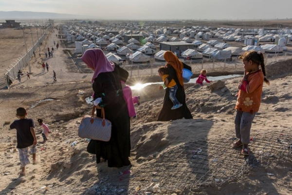 آخر إحصائية رسمية لعدد النازحين في العراق