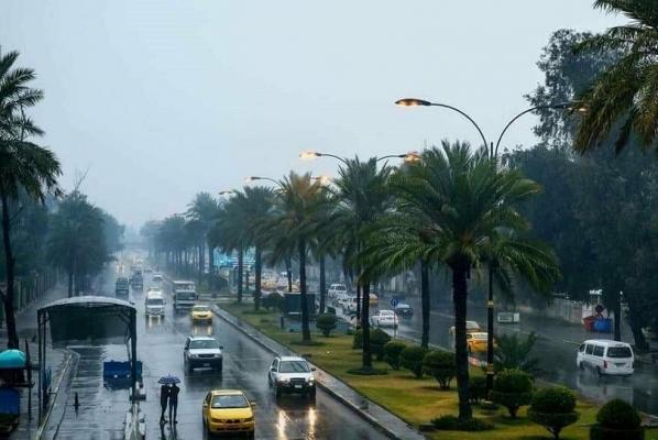 توقعات الأمطار في العراق من اليوم الى الجمعة المقبلة