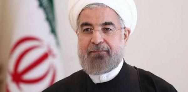 روحاني يتوجه الى الكاظمية قبل استقباله الرسمي من قبل صالح