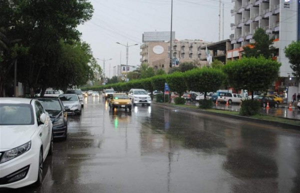 أمطار غزيرة ومفاجئآت جوية قادمة للعراق