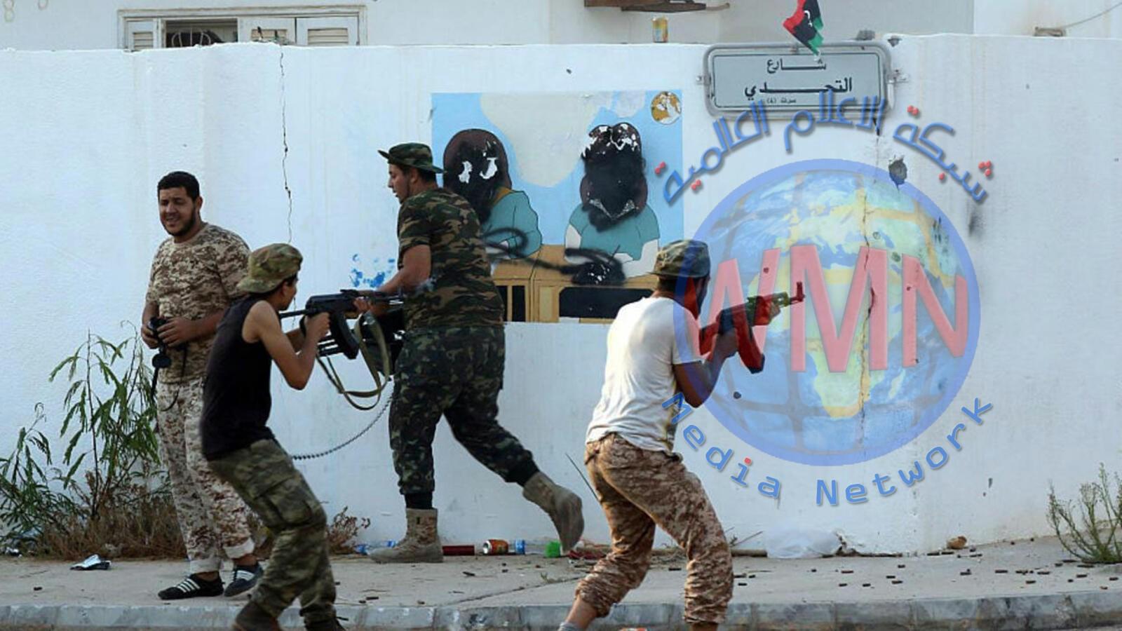 انفجار مفخخة في بنغازي ومعارك طرابلس على 7 محاور