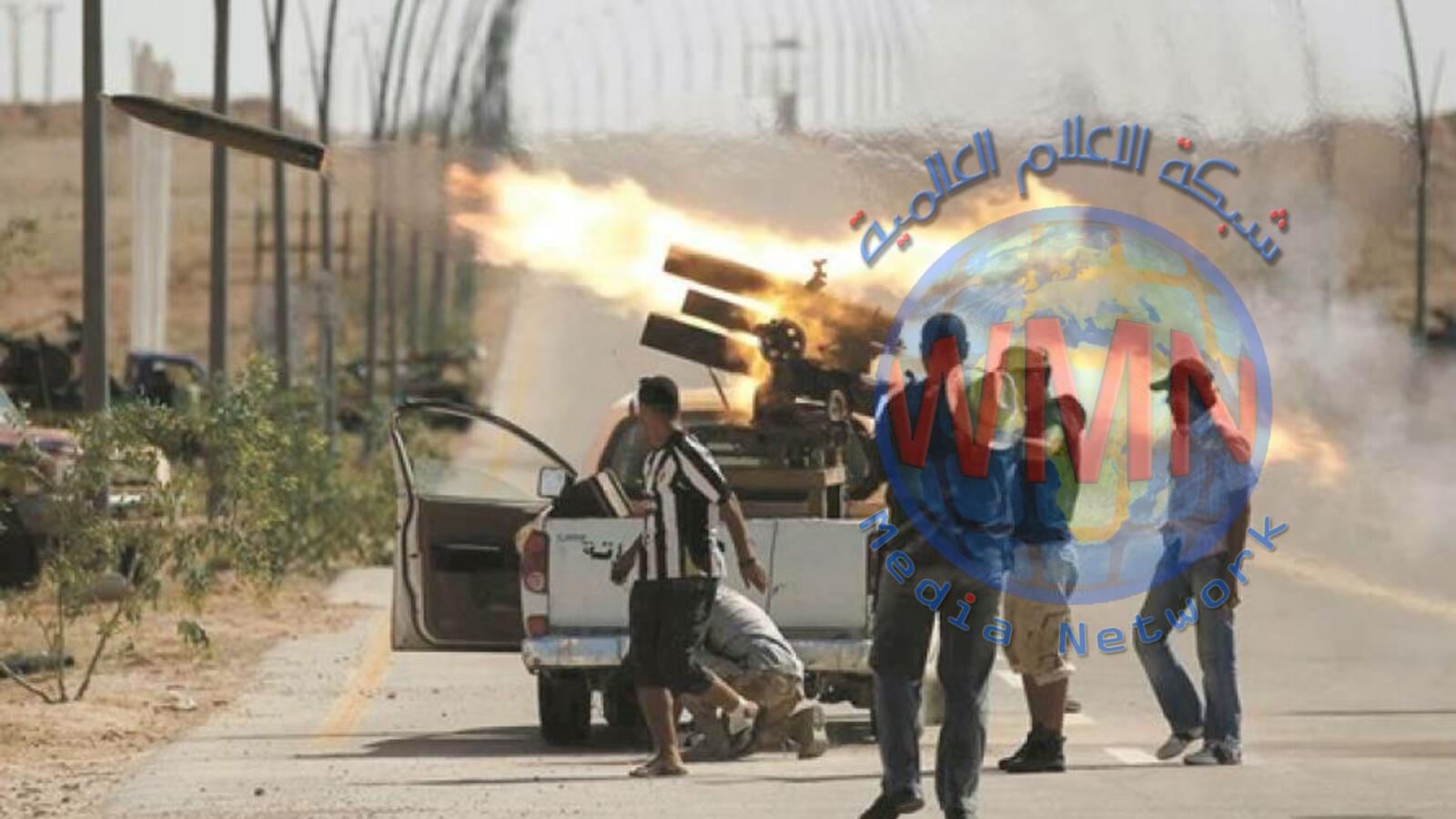 قوات حكومة طرابلس تتصدى لمليشيات حفتر في حرب شوارع