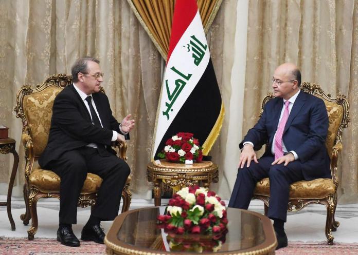 مبعوث بوتين في بغداد لتأكيد دعم روسيا للعراق حكومة وشعبا