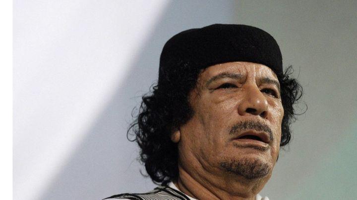 الكشف عن فضيحة جديدة للقذافي اخفى 30 مليون دولار في قبو زوما