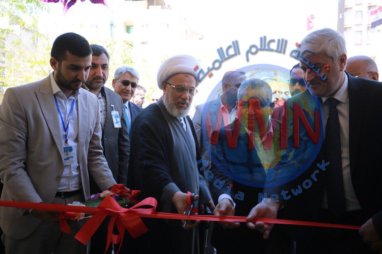 افتتاح مركز غسل الكلى في مستشفى زين العابدين.. والعتبة الحسينية تتبرع بجهازين لمستشفى حكومي