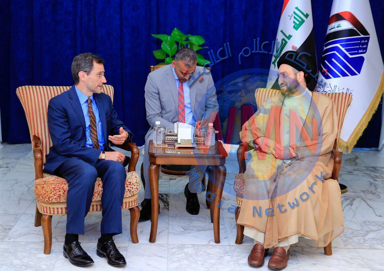 """الحكيم للسفارة الامريكية ببغداد: العقوبات وتجويع الشعوب سياسية """"غير مجدية"""""""