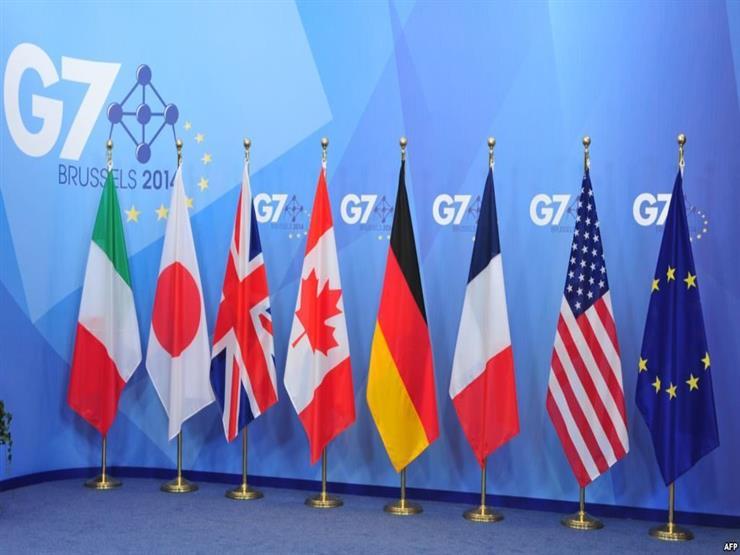 مجموعة الدول السبع يدعون القلق من خطر التصعيد في سوريا