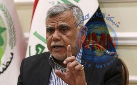 هادي العامري يطالب عادل عبد المهدي بإنصاف البدريين