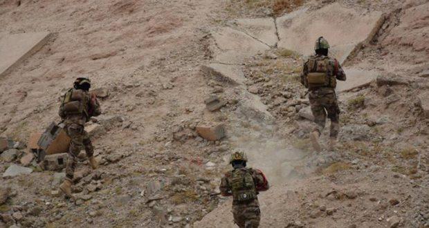 """تدمير مقر صحيفة """"النبأ"""" التابعة لداعش في تلال حمرين"""