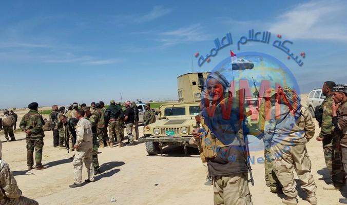 الحشد الشعبي يلاحق عصابات داعش في حقول علاس