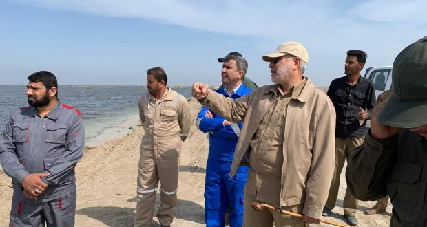 الحاج ابو مهدي المهندس : يثني على دور مديرية إعلام الحشد بمواكبة عمليات الاغاثة للمناطق التي اجتاحتها السيول