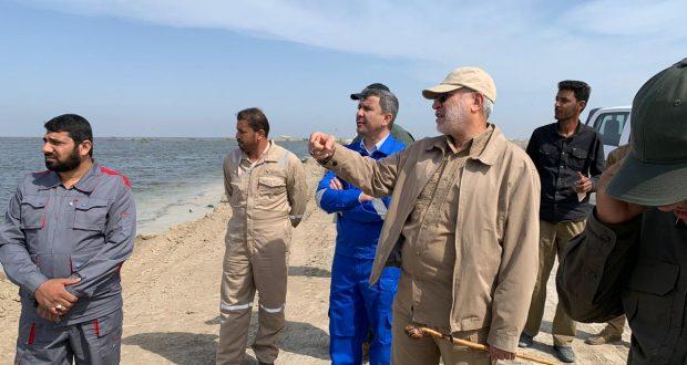 ابو مهدي المهندس: يوجه بتكثيف الجهود لتحصين بعض القرى من خطر السيول ويؤكدالوضع مطمئن