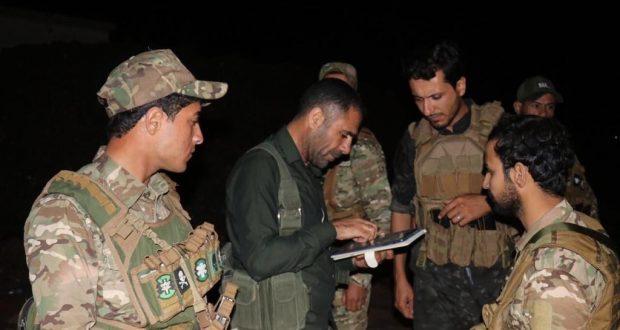 """الحشد الشعبي ينصب كمائن ليلية للايقاع بـ""""داعش"""" ويحبط محاولة تفجير في ديالى"""