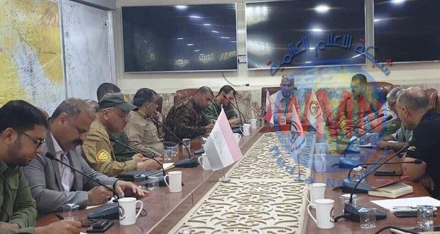 عمليات الفرات الأوسط للحشد الشعبي تعقد اجتماعاً لبحث الخطة الخاصة بالزيارة الشعبانية