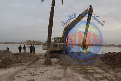 الحشد يسيطر على وضع السيول شمال البصرة ويزيد عدد الزوارق تحسبا للطوارئ
