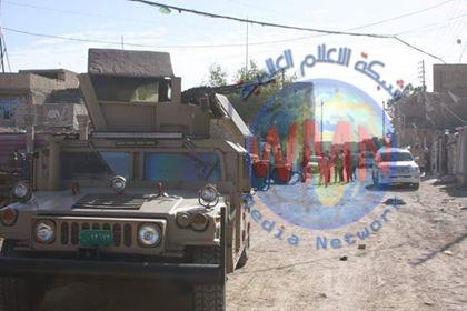 الجيش العراقي يقوم بحملات تفتيش في بغداد