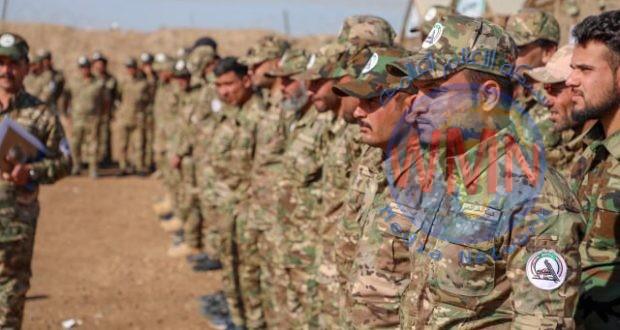 اللواء 28 بالحشد ينظم دورة تدريبية لعدد من مقاتليه على السلاح الخفيف والمتوسط والاستخبارات