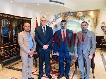 مديرية إعلام الحشد تبحث مع السفارة العراقية بمصر تنظيم فعاليات للتعريف بانتصاراتنا ضد الإرهاب