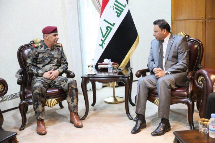 الكعبي فتح الطرق المغلقة في بغداد موضوع سيادي