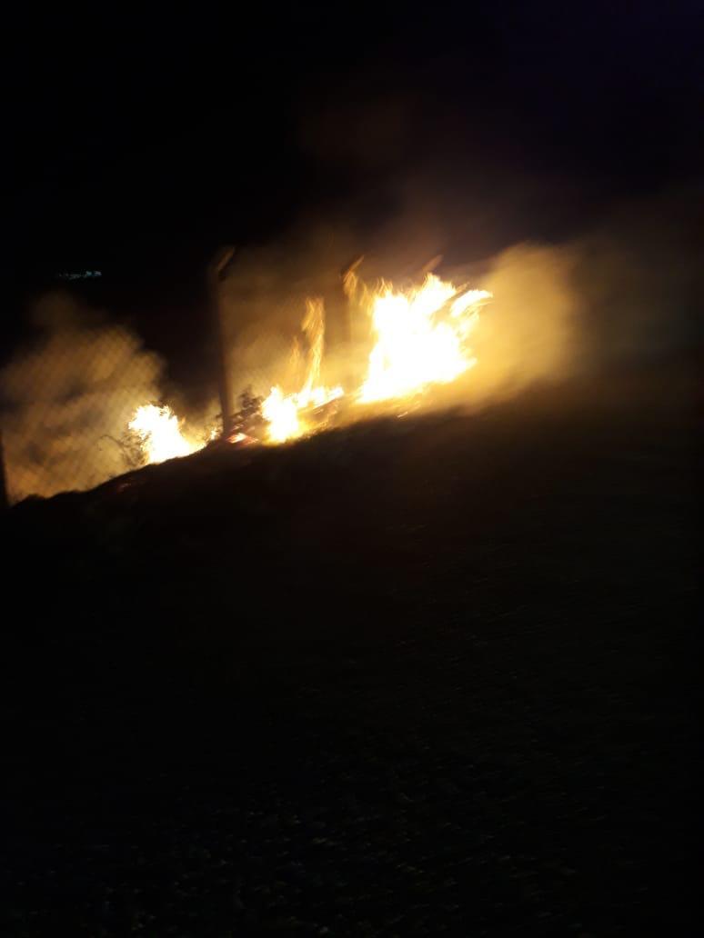 الدفاع المدني في واسط تخمد حريقاً اندلع في احد البساتين بالمحافظة